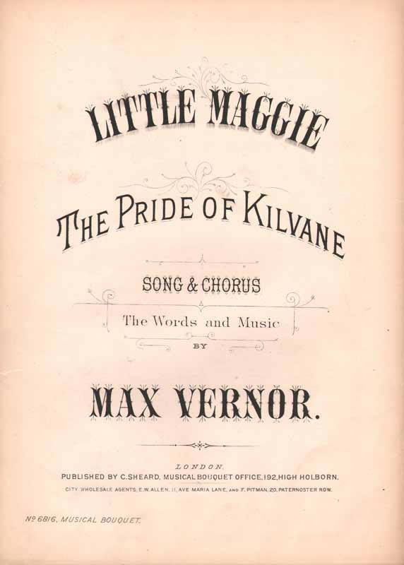 Little Maggie, the pride of Kilvane