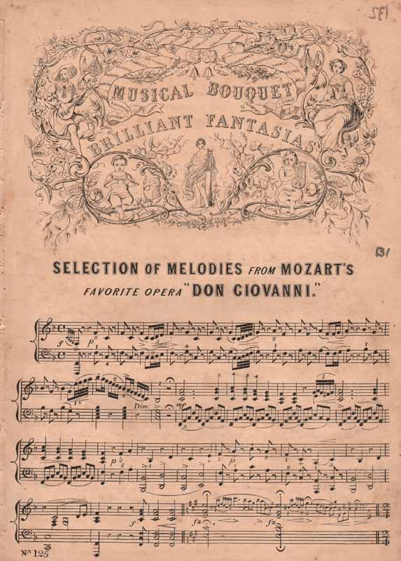 Melodies from 'Don Giovanni'