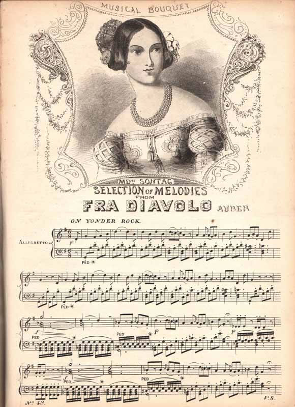 Melodies from 'Fra Diavolo'