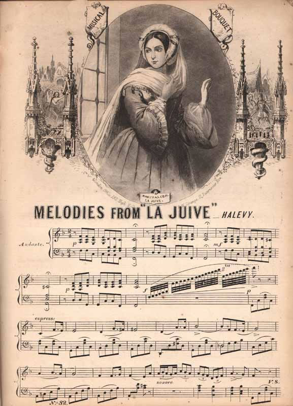 Melodies from 'La Juive'