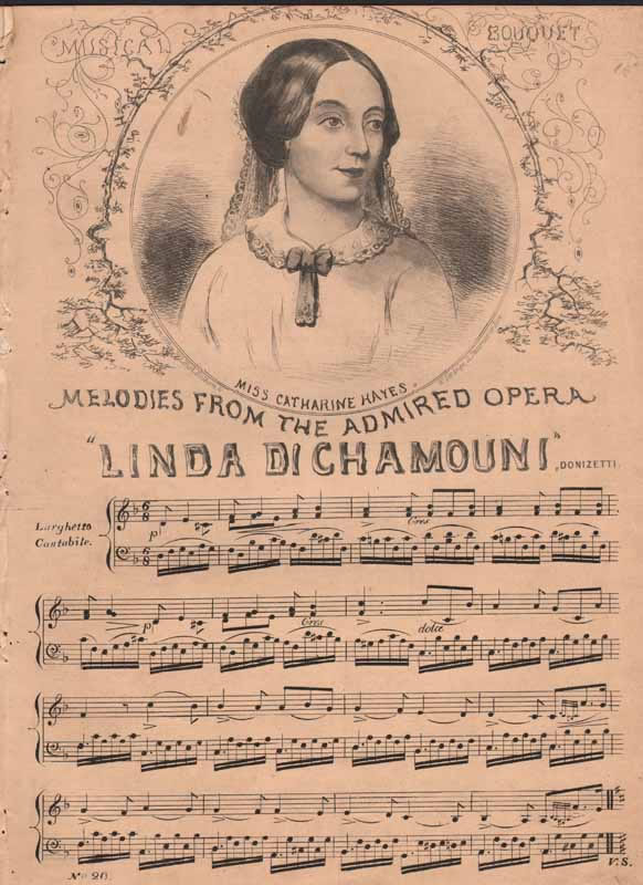 Melodies from 'Linda di Chamounix'