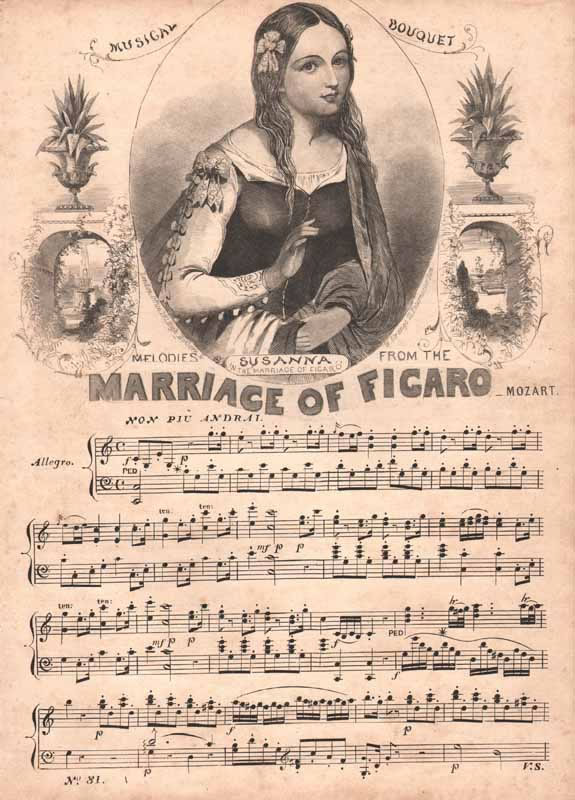 Melodies from 'The Marriage of Figaro'