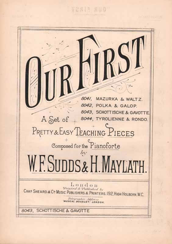 'Our First' - Schottishe and Gavotte