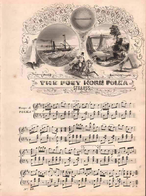 The Post-Horn Polka  &  La Belle Agnes Valse