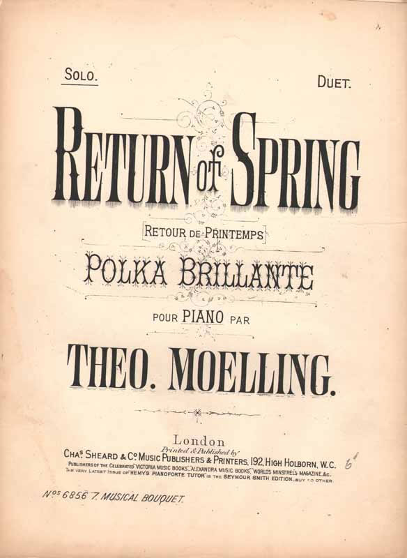 Return of Spring  -polka brillante