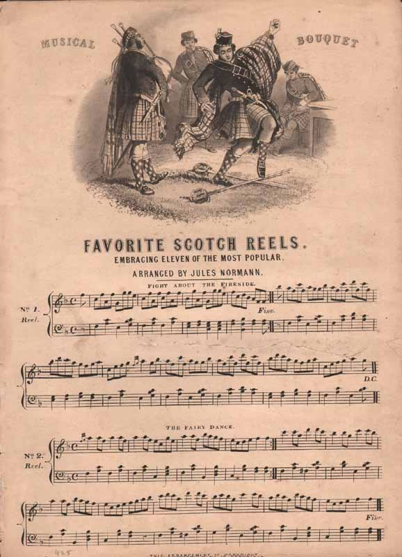 Selection of 11 favourite Scotch reels & strathspeys