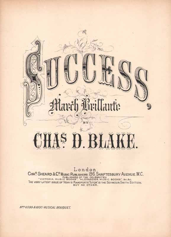 Success  -marche brillante