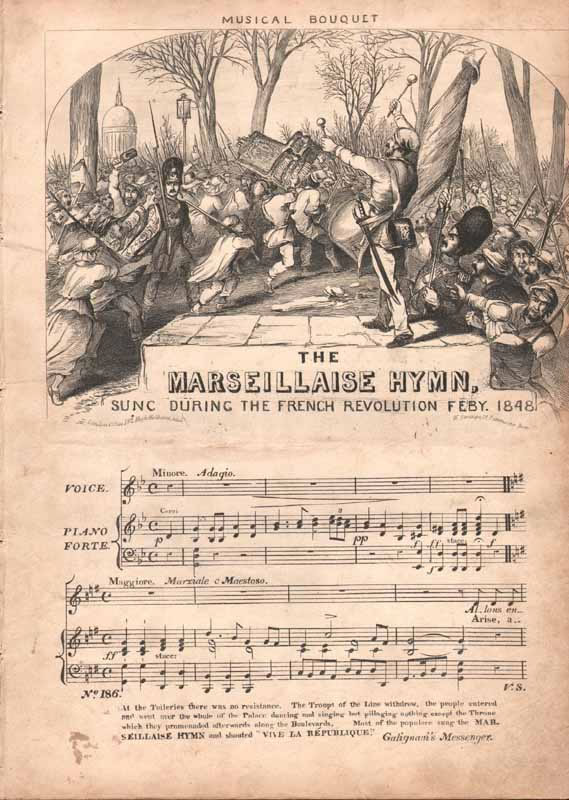 The Marseillaise Hymn                                    [Nz]