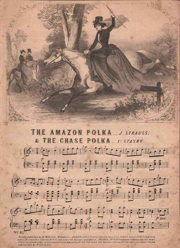 a.The Amazon Polka  & b.The Chase Polka