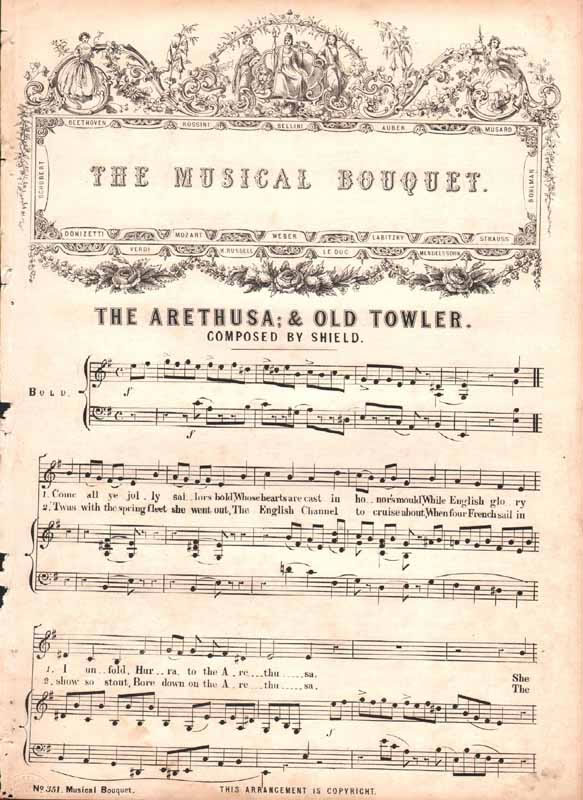 The Arethusa  &  Old Towler