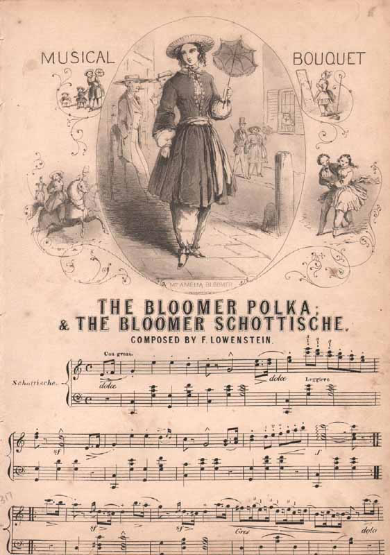The Bloomer Polka and Schottische