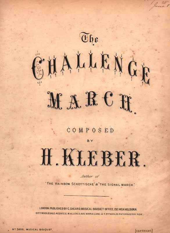 The Challenge March