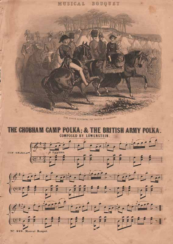 The Chobham Camp Polka &The British Army Polka
