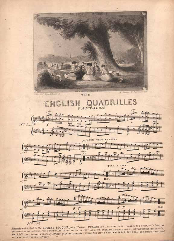 The English Quadrilles