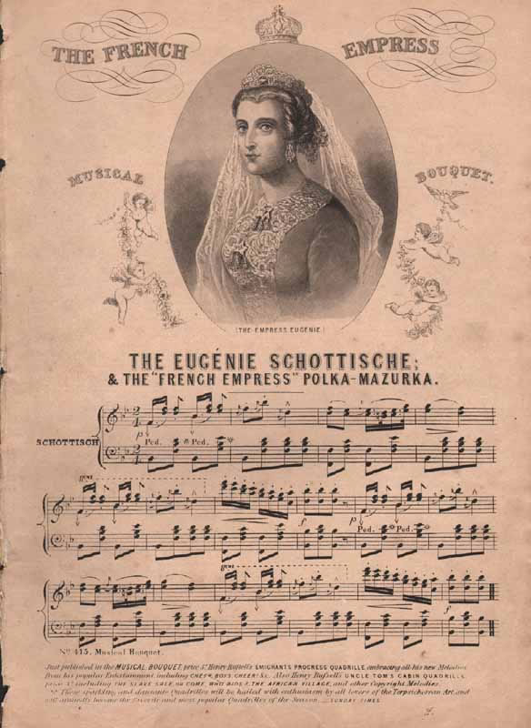 The Eugénie Schottische and Polka-mazurka
