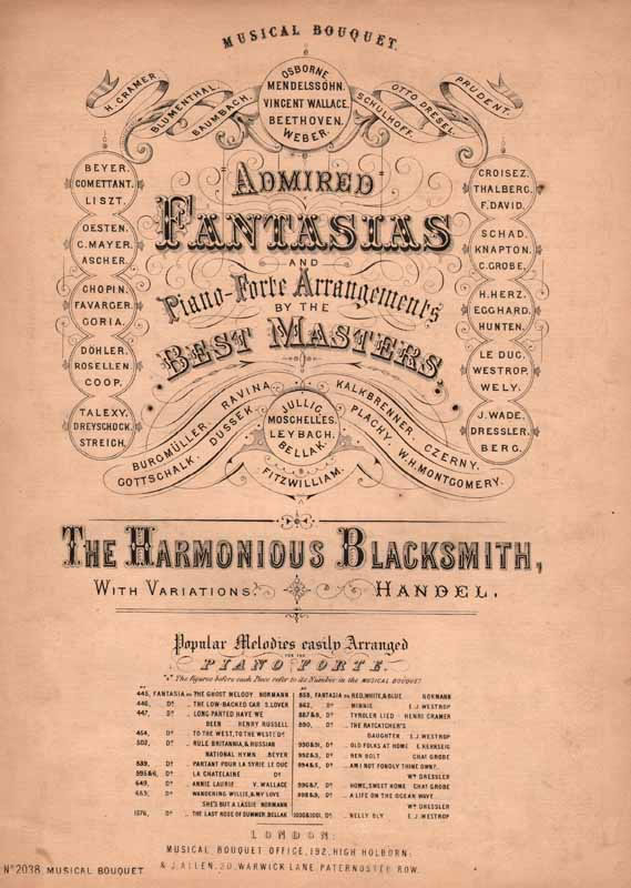 The Harmonious Blacksmith -fantasia