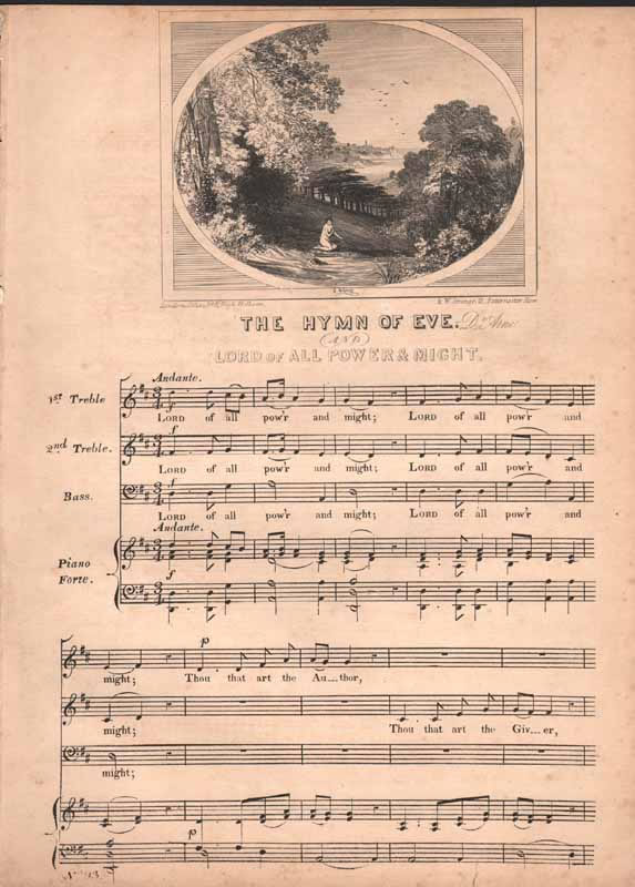 The Hymn of Eve from 'Abel'
