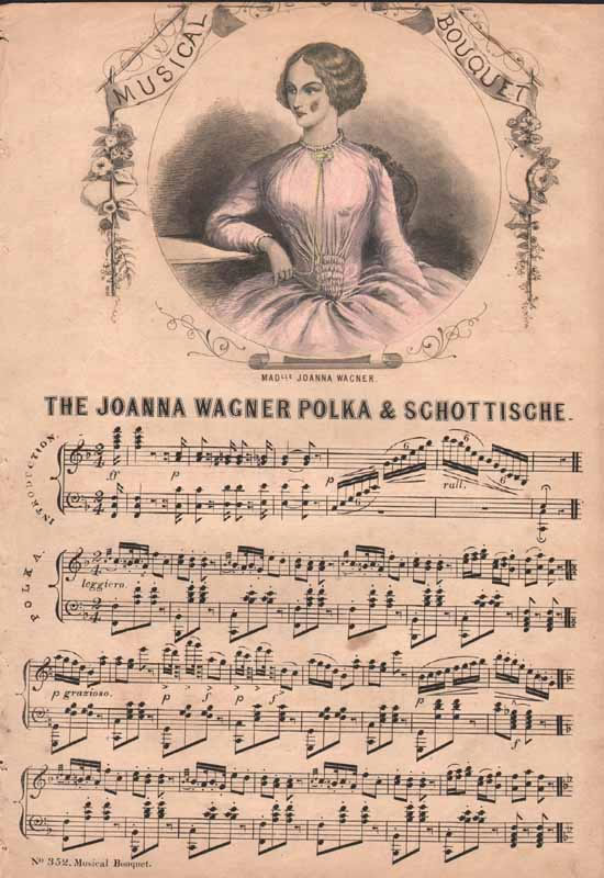 The Joanna Wagner Schottische, with polka