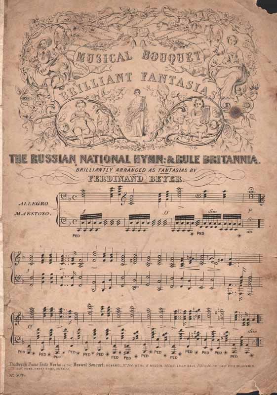 Russian National Hymn & Rule Brittania fantasias