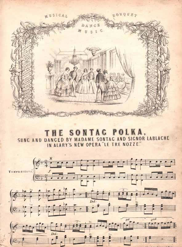 The Sontag Polka  from 'Le Tre Nozze'