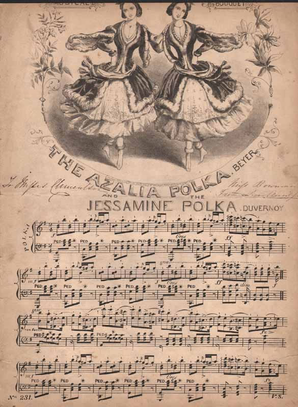 a.The Azalia Polka b. The Jessamine Polka