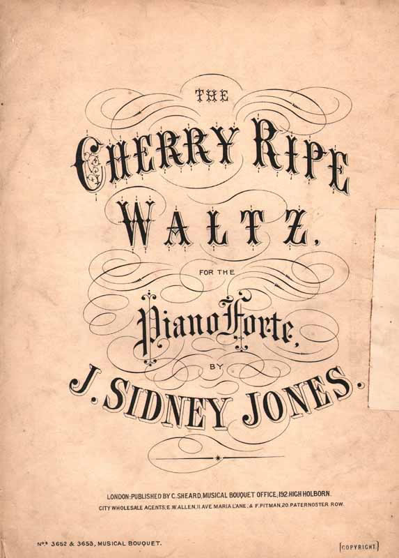 The Cherry Ripe Waltz