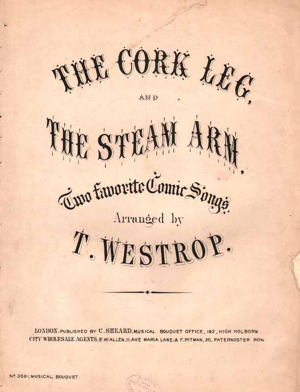 The Cork Leg - & -  The Steam Arm                 [Cz]