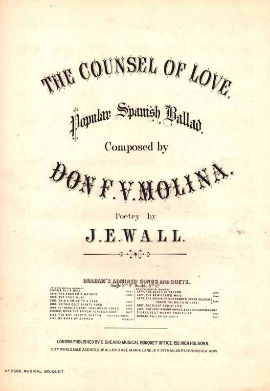 The Counsel of Love