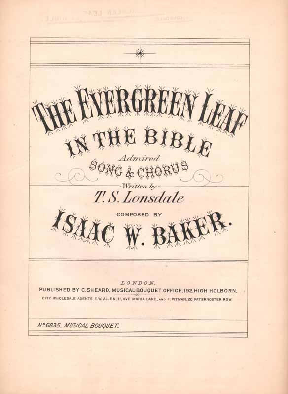 The ever-green leaf in the Bible