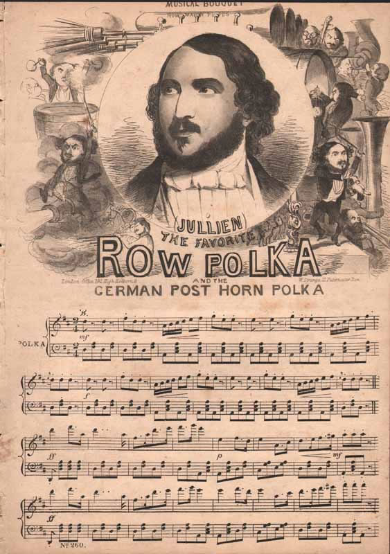 a.The Fav. Row Polka  b.German Post-horn Polka