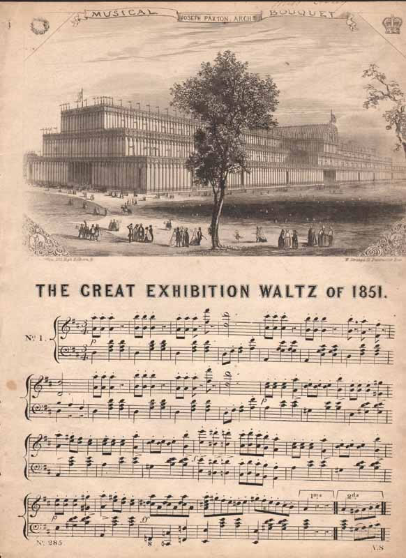 The Great Exibition Waltz of 1851