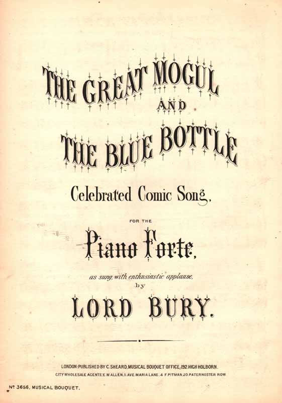 The Great Mogul & The Blue Bottle                  [Cz]