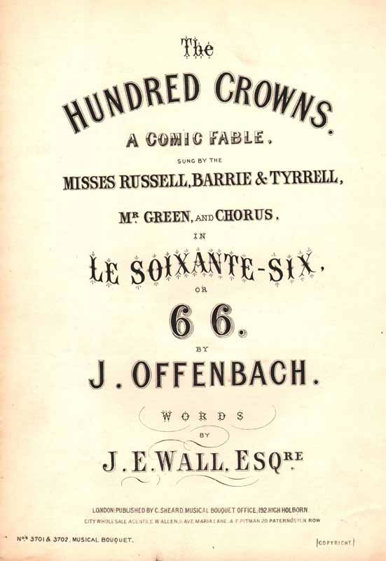 The Hundred Crowns from 'Le Soixante-six'