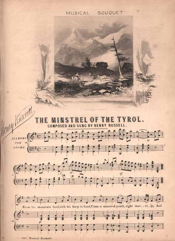 The Minstrel of the Tyrol