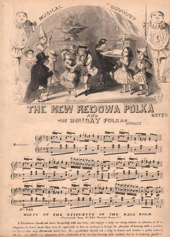 a.The New Redowa Polka b.The Holiday Polka