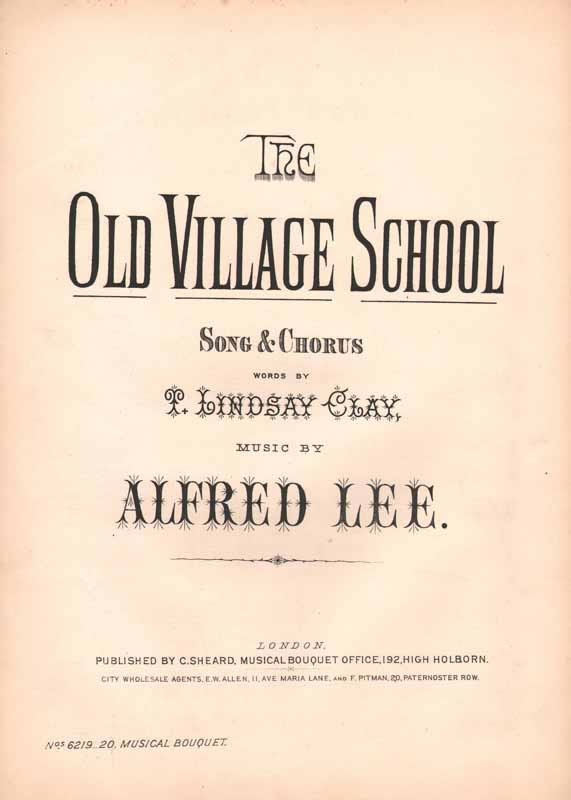 The old village school