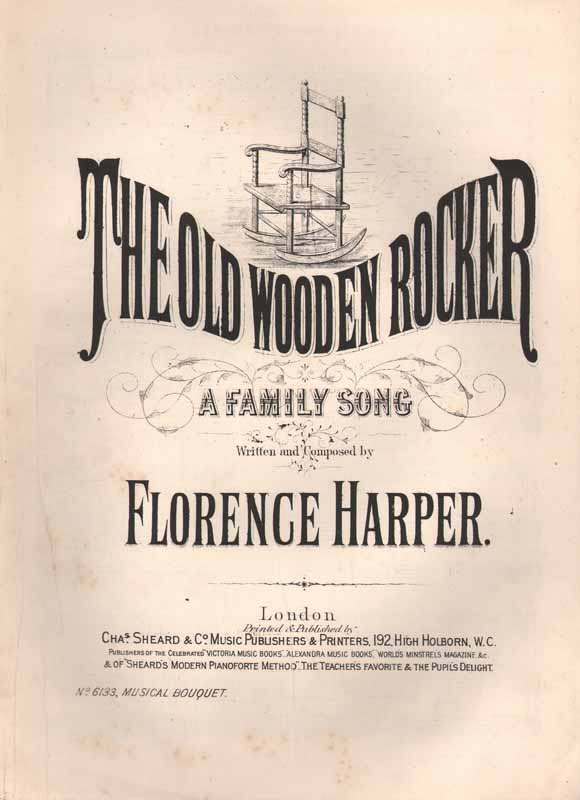 The old wooden rocker -a family song