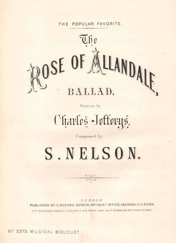 The Rose of Allendale