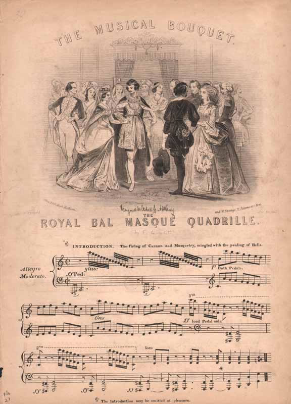The Royal Bal Masque Quadrilles