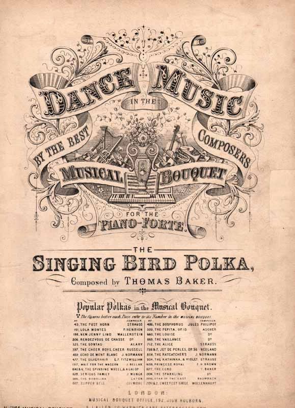 The Singing Bird Polka