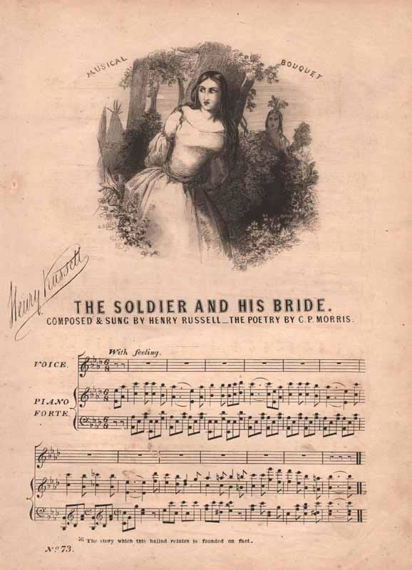 The Soldier and his Wife(Bride)