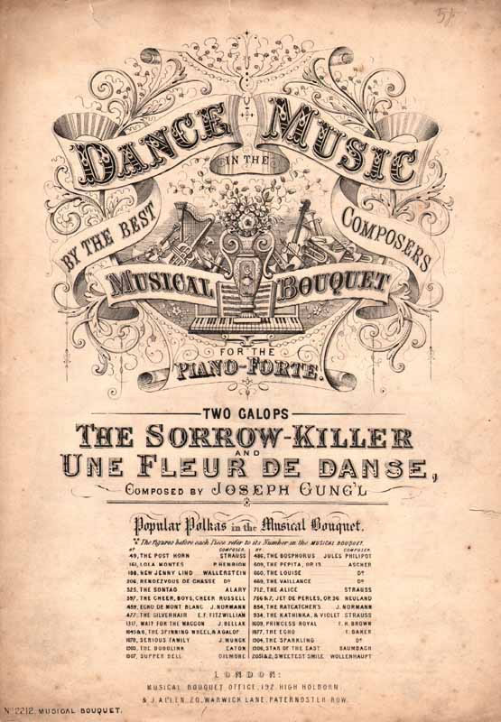 The sorrow killer & Une Fleur de Dance Galops