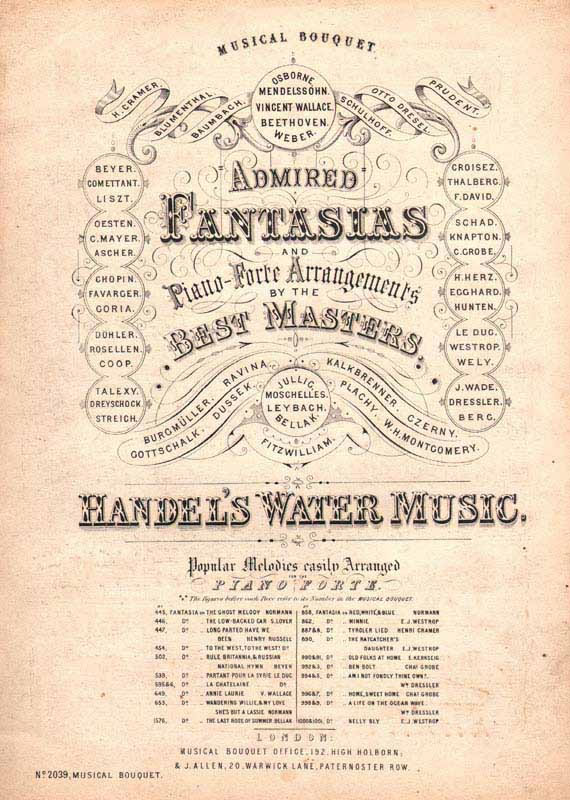 'Water Music' -fantasia
