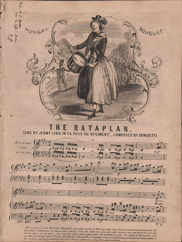 The Rataplan from 'La Fille du Régiment'